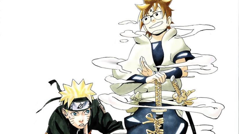 Hachimaru e Naruto