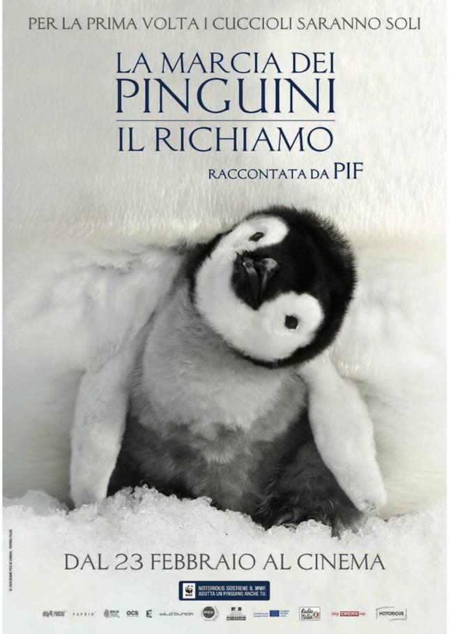 Locandina de La marcia dei pinguini