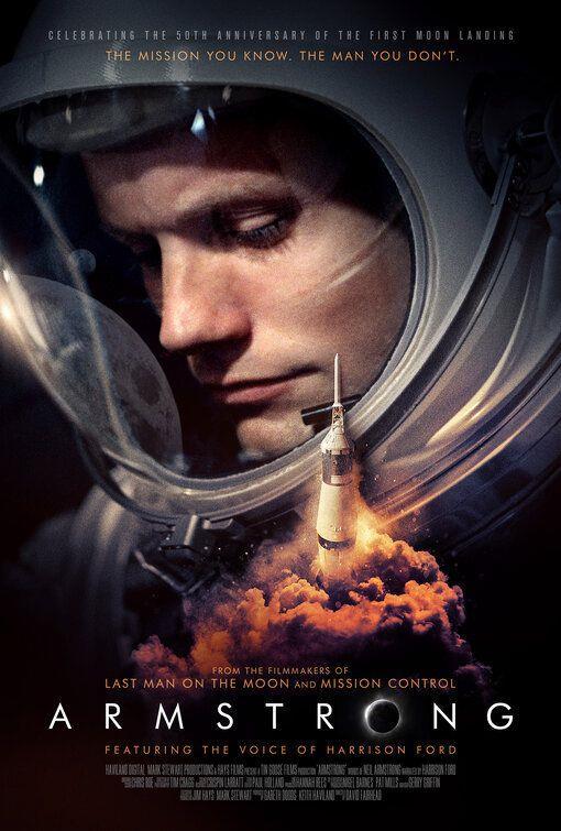 Armstrong, il poster del nuovo documentario di David Fairhead dedicato a Neil Armstrong