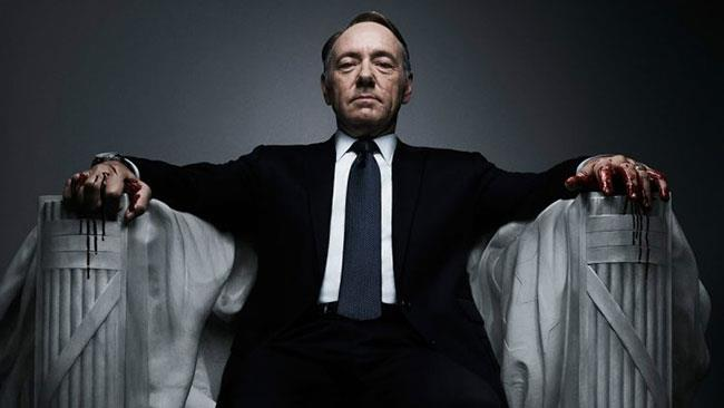 Kevin Spacey è Frank Underwood in House of Cards