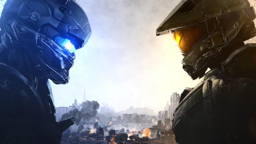 Master Chief e Locke sulla cover ufficiale di Halo 5 Guardians