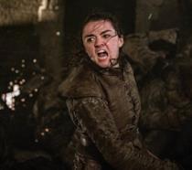 Un'immagine di Arya nell'episodio 8x03 di Game of Thrones