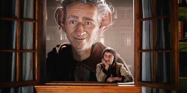 Una scena di Il Grande Gigante Gentile di Steven Spielberg