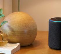 Immagine stampa di Amazon Echo di terza generazione