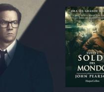 Mark Wahlberg assieme alla copertina del libro