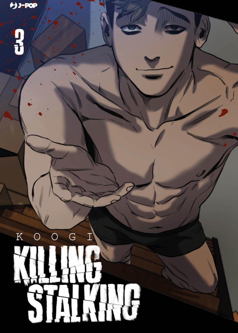 Killing Stalking, la copertina del volume 3