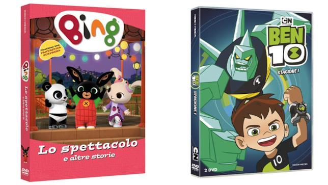 Bing - Lo spettacolo e altre storie e Ben 10 - Home Video - DVD