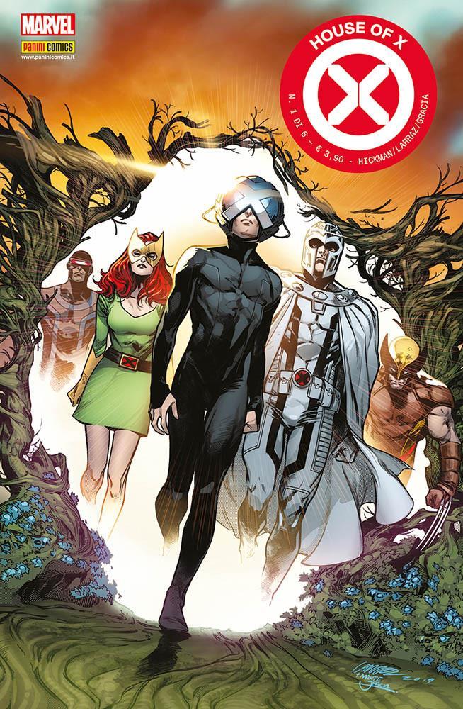 La copertina di House of X 1
