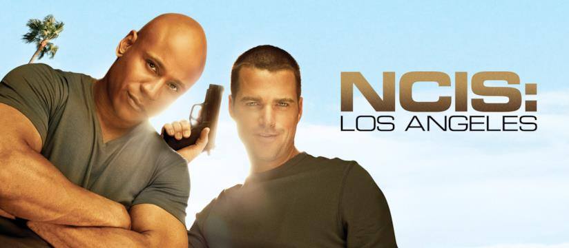 Chris O'Donnell e LL Cool J nel poster di N.C.I.S. Los Angeles