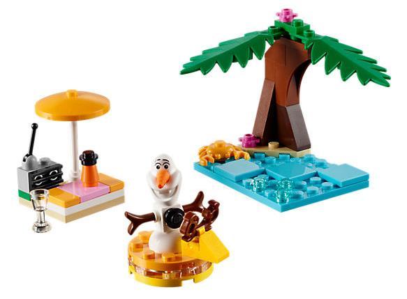 Dettagli del set Il divertimento estivo di Olaf