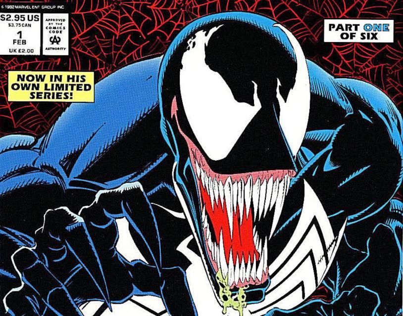 Venom sulla cover del primo numero di Lethal Protector