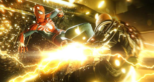 Spider-Man affronta il villain Electro