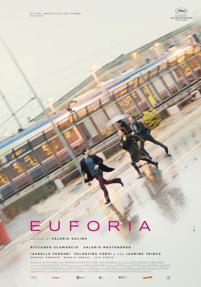 Poster ufficiale di Euforia
