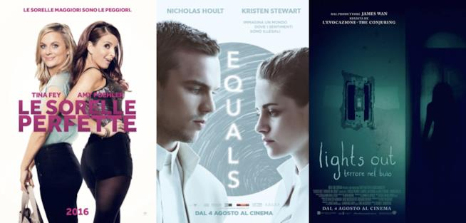 I poster di Le Sorelle Perfette, Equals e Lights Our