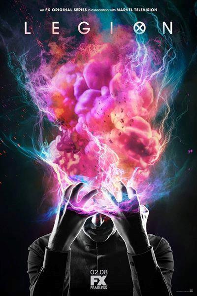 I poteri di David sono i protagonisti della locandina di Legion