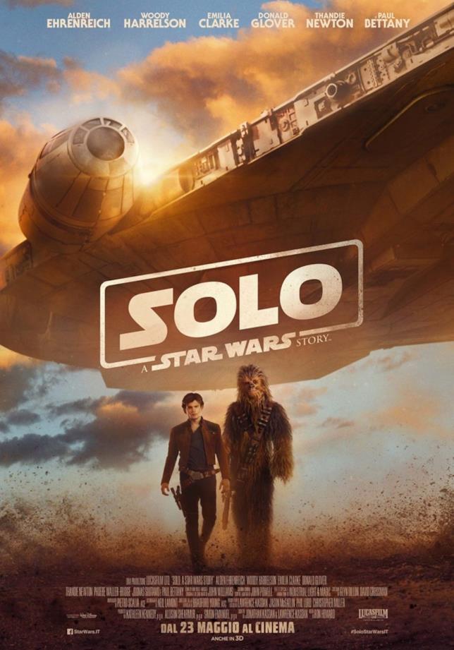 Poster italiano di Solo: A Star Wars Story