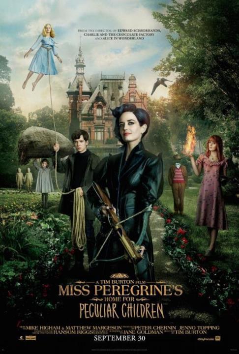 Il cast di La Casa per Bambini Speciali di Miss Peregrine
