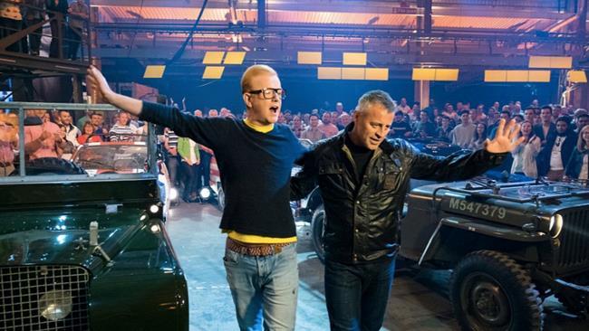Chris Evans e Matt LeBlanc, Top Gear