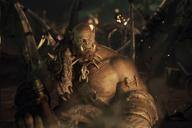 Un orco del film Warcraft