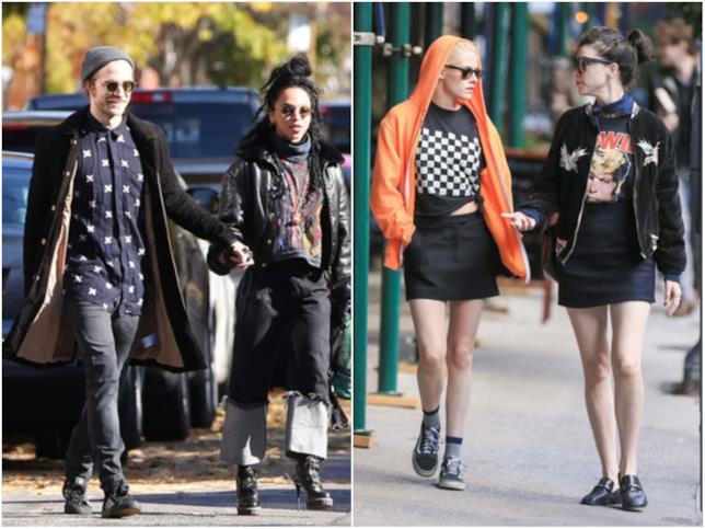 Robert Pattinson cammina con FKA Twigs per strada, Kristen Stewart con St. Vincent