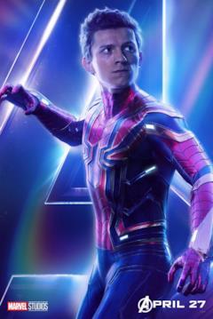 Il poster del personaggio di Spider-Man