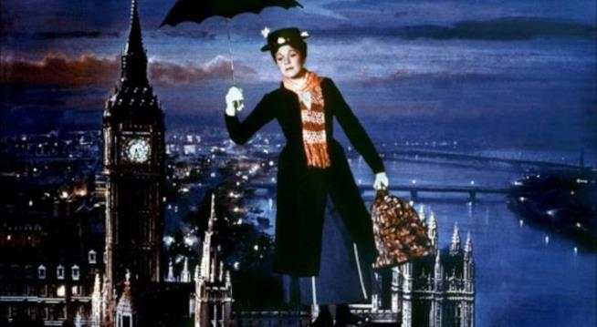 Julie Andrews in Mary Poppins