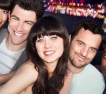 Zooey Deschanel e gli altri membri del cast di New Girl