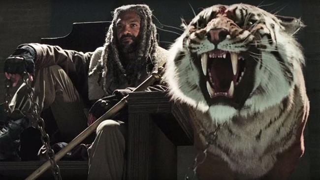 Re Ezekiel e la tigre Shiva