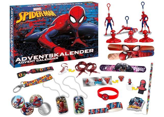 Il calendario dell'avvento di Spider-Man