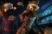 Rockst Raccoon in Telltale's Guardians of the Galaxy