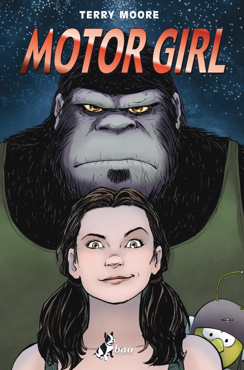 La cover del fumetto Motor Girl