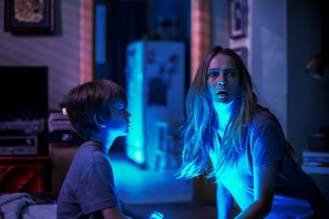 Una scena di Lights Out - Terrore nel buio