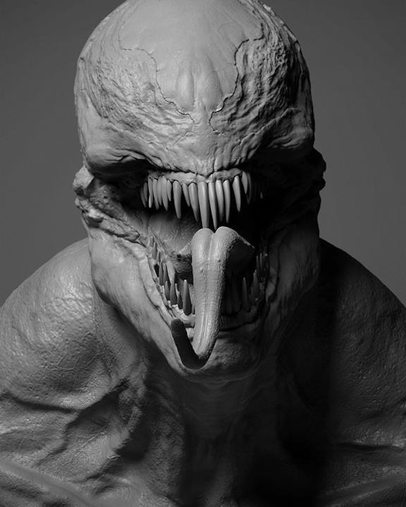 Denti e lingua, ecco Venom