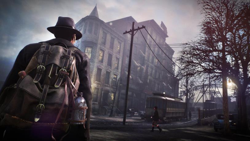 Uno screenshot di gioco da The Sinking City