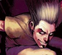 Un'iconica immagine di Legion tratta dai fumetti