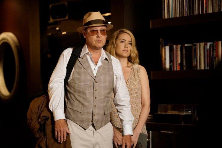 James Spader e Megan Boone in uno scatto della stagione 3
