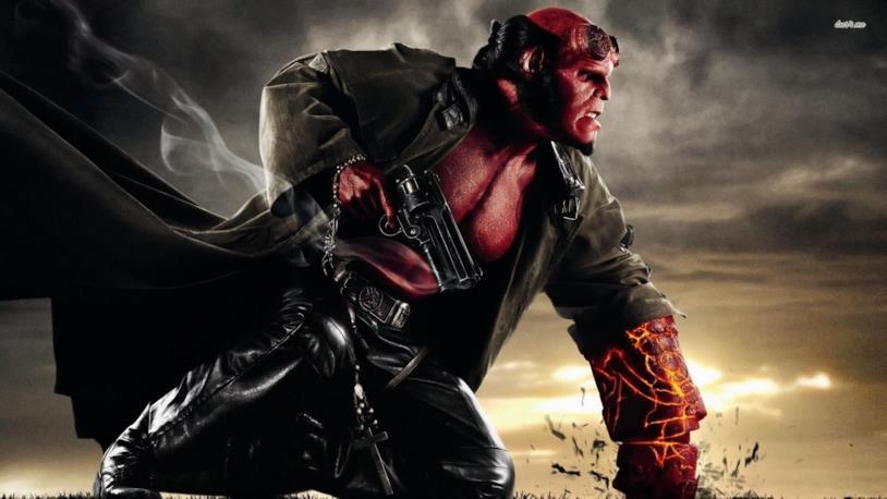 Il supereroe Hellboy