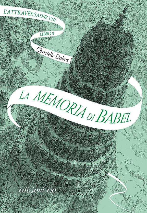 La copertina di La memoria di Babel