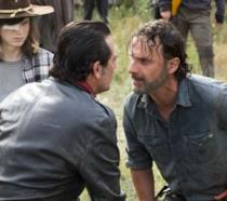 Un'immagine del season finale di The Walking Dead 7