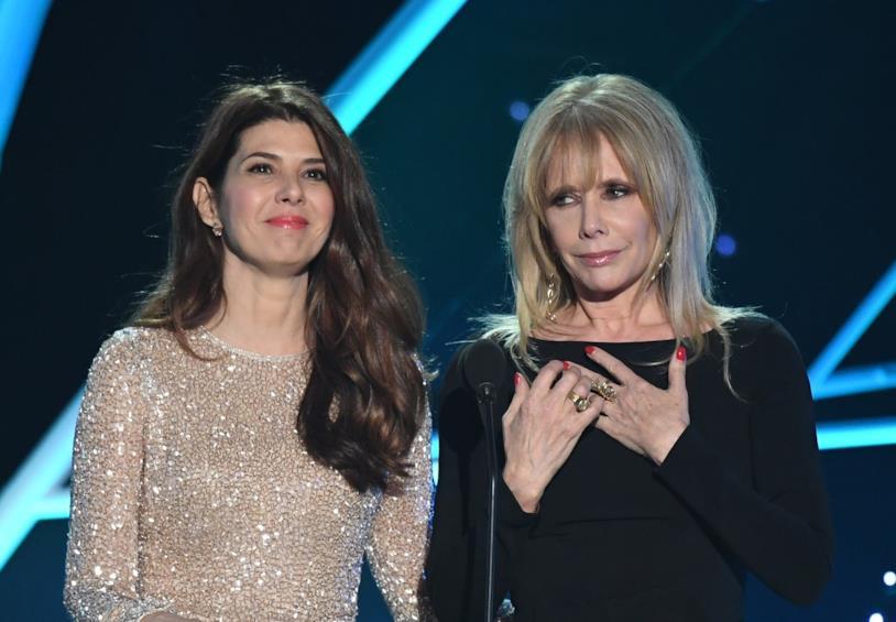 Marisa Tomei e Rosanna Asquette ai SAG Awards