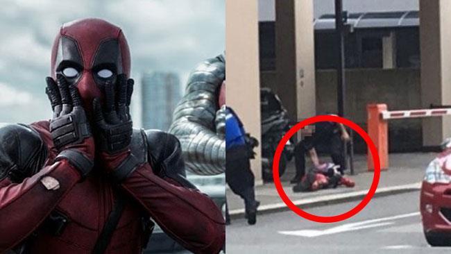 Deadpool reagisce alla notizia dell'arresto in Ticino