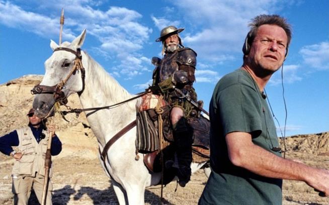 Terry Gilliam e Jean Rochefort