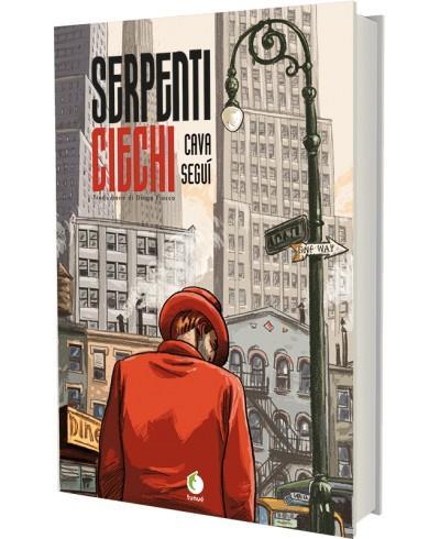 La cover del fumetto Serpenti ciechi edito Tunué