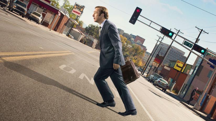 Bob Odenkirk nel poster ufficiale della stagione 2 di Better Call Saul