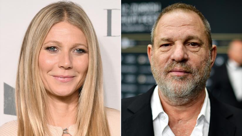 Gwyneth Paltrow e Weinstein