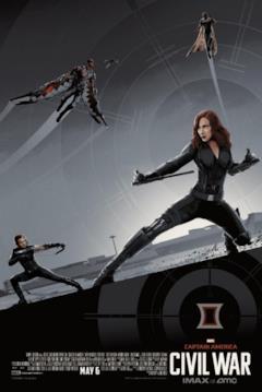 Quattro degli Avengers presenti nel film