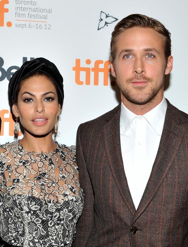 Ryan Gosling e Eva Mendes alla premiere di Lost River
