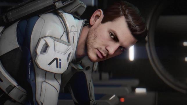 Scott Ryder, uno dei protagonisti del gioco.