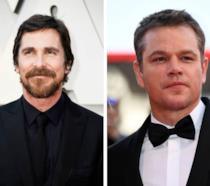 Collage di Christian Bale e Matt Damon
