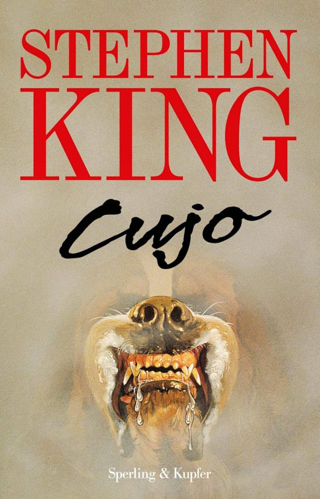 La copertina di Cujo